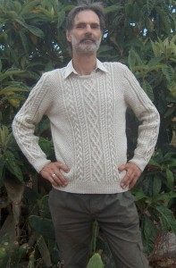 Traditional Arran Jumper