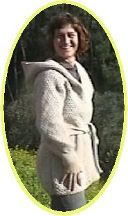 Chunky hoody Jacket handmade fashion knitwear