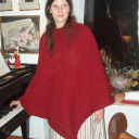 Plain Delight Poncho